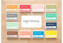 "Color Theory / Color Theory is a complete collection of colorful basics covering everything from ink to alphabets to embellishments. These items will be a staple in our shop, making it easy to pick up that ""little something"" you might want to go along with your Studio Calico kits. / by Studio_Calico"