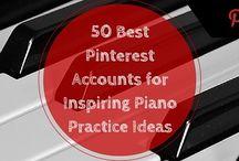 Pedagogía de piano / Métodos para la enseñanza del piano, recursos para el aula, libros, partituras y demás