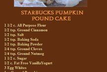 Starbucks / Pumpkin pound cake