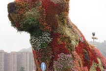 Escultura vegetal