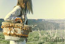 capazos y bolsos / Capazos hechas a mano de Lolita&Lola