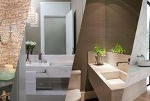 banheiros/lavabos