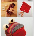 Marionette con calzini