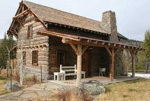 Log Homes / by Beth Hammond
