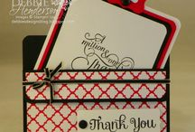 Debbie hendersons cards and boxes