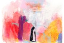 pintura abstracta :: Jenny Andrews Anderson