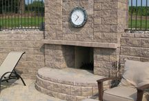 Outdoor Fireplace & Fire Pits