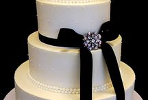 Wedding Cake, Black And ...