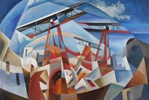 [1909 - 1944] Futurism / Futurism was an artistic and social movement that originated in Italy in the early 20th century. It emphasized speed, technology, youth, and violence, and objects such as the car, the aeroplane, and the industrial city.