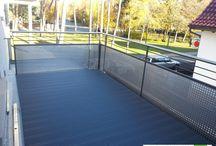 Balkone mit UPM Profi Deck Terrassendielen / verschiedenste Balkone die unsere Kunden mit UPM ProFi Deck Terrassendielen verschönert haben