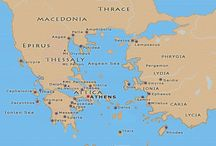 Maps Ancient Greece and Mediterranean / History Of the World