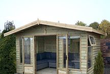 Traditional Summerhouses / Enjoy the finer weather in the comfort of your own garden in one of our Malvern Traditional Summerhouses!