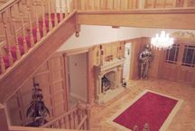 Manchester United House for Famous Footballers / Oak Panelling
