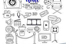 Bullet Journal Datenights ideas