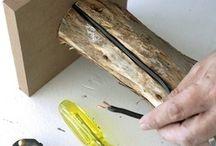 κατασκευες με ξυλο