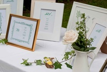 Table Seating Plan ideas / Small details make the difference