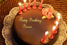 birthday cake Bruce