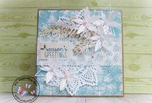 Kartki bożonarodzeniowe / To tylko część moich prac :) Jeśli podobają ci się i chcesz je mieć to zapraszam do kontaktu: cohenna@o2.pl