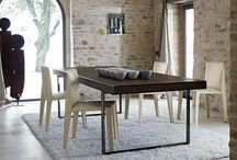 Modern iron dining tables