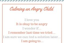 Dealing with angry child