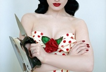 pinup / now my part is almost over, this board is a pinup hair and make one / by Kim Lewis