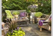 Patio ideas / by Valerie Foster