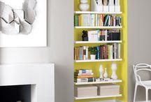 Scaffali mon amour / Una raccolta che riguarda interamente gli scaffali e le librerie per arredare le case di chi ha tanti libri
