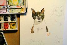 Cats ! / Cats, cute cats, cat's drawings!