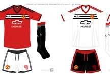 #MyUnitedStory / Selection of my photos and graphic design - red, white and black - United Colours of Manchester - capturing the spirit of the club my brothers and I have followed since childhood.