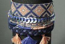 idée pattern bracelet tissé