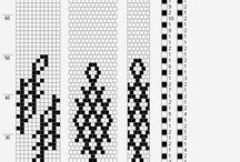 Bead crochet rope patterns.