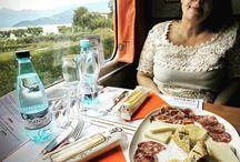 Avete mai fatto l'aperitivo sul treno ??? Qui si fa con i prodotti del territorio #salamedimontisola #Fraciacorta #trenodeisapori