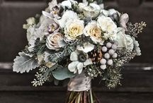 { white wedding florals }