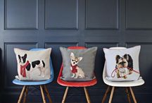 IOSIS Cushions / Beautiful IOSIS Tapestry cushions made in France