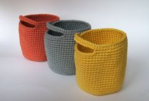 Magic crochet - baskets