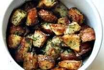 potatoes / by Marian Dickinson Hindall