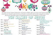 Kids Bible Study Ideas