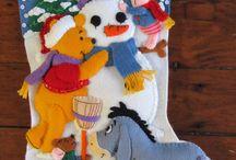 Bota de niño de nieve y siniestros pook