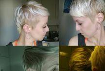my hairstyles / cut my own hair