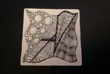 Dashtangles White Tile Originals / Tiles I have created