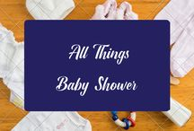 All Things Baby Shower / From Baby Shower ideas, Baby Shower Themes, Baby Shower Games, Baby Shower Food and Baby Shower Gifts, this board is All Things Baby Shower for both baby girls, baby boys and gender neutral.