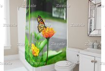 Custom Designed Shower Curtains