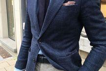 Vestito spezzato uomo