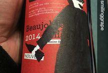 Expressions du Beaujolais Nouveau 2014 chez Miss Vicky Wine / C'est l'heure de sortir les pinceaux! Beaujolais Nouveau 2014 is awaiting your artistic inspiration :)