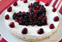 dolci al cucchiaio e torte senza cottura / ricette