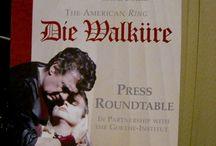 Opera posters. Wagner. Die Walkure