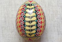 Painted Eggs / Russian Design Ideas