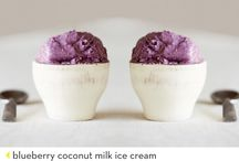 sorbet, gelato & ice cream