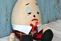 Vintage Humpty Dumpty / Humpty Dumpty is so cute. Be sure to visit my blog http://cdiannezweig.blogspot.com/