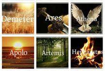 Fotos tirinhas Deuses Gregos